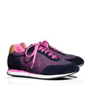 Tory Burch Davies Sneakers Suede